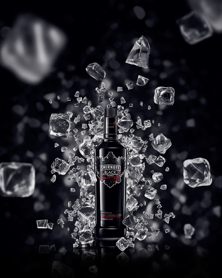 Smirnoff Black on Behance