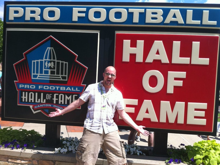 Pro Football Hall of Fame.