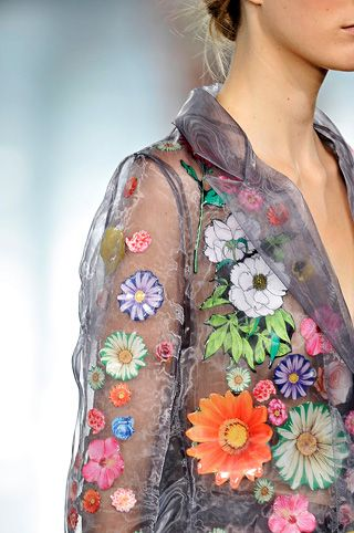 Christopher Kane #flower dress