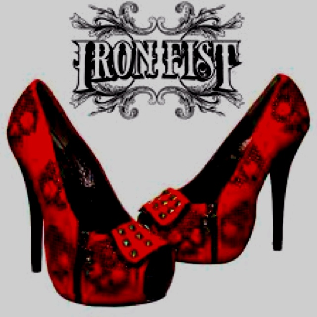 Every woman needs red heels.