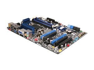 Z68 motherboard with support for Quick Sync Video and hybrid/switchable graphics