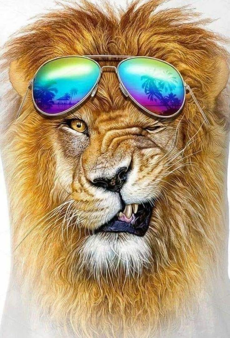 Картинки лев для аватарки