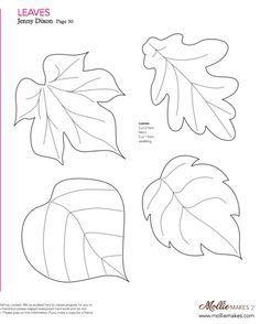 85+ Felt Leaf Template - Download Salad Leaf Template By Happy Pills ...