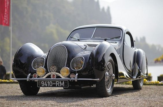 1938 Talbot Lago T150 CSS -
