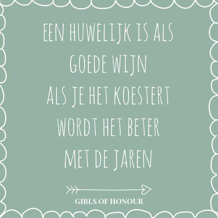 Cheers! #huwelijk #trouwen #tegeltjeswijsheid #quote #liefde #girlsofhonour