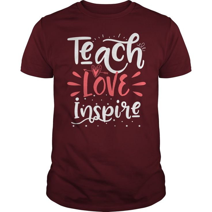 Teach Love Inspire Teacher Teaching T-Shirt #gift #ideas #Popular #Everything #Videos #Shop #Animals #pets #Architecture #Art #Cars #motorcycles #Celebrities #DIY #crafts #Design #Education #Entertainment #Food #drink #Gardening #Geek #Hair #beauty #Health #fitness #History #Holidays #events #Home decor #Humor #Illustrations #posters #Kids #parenting #Men #Outdoors #Photography #Products #Quotes #Science #nature #Sports #Tattoos #Technology #Travel #Weddings #Women