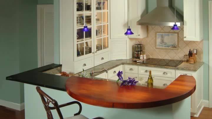 Remodeling  a kitchen peninsula is something that you can do in a wide variety of different ways depending on your preferences. Remodel a kitchen peninsula with help from an interior designer in this...