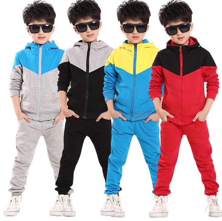 $13.99 (Buy here: https://alitems.com/g/1e8d114494ebda23ff8b16525dc3e8/?i=5&ulp=https%3A%2F%2Fwww.aliexpress.com%2Fitem%2F2014-new-spring-autumn-outwear-children-2-pcs-suit-boys-clothing-set-hoodie-pants-baby-set%2F32441349638.html ) 2014 new spring autumn outwear children 2 pcs suit boys clothing set hoodie+pants baby set kids sport suit Retail for just $13.99