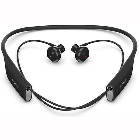 Sony SBH70 Bluetooth In-Ear Headset Black - Front View