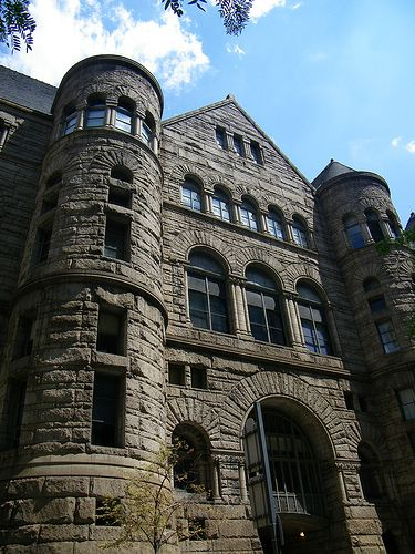 Allegheny Courthouse - Pittsburgh, USA / 1888 / Henry H.Richardson