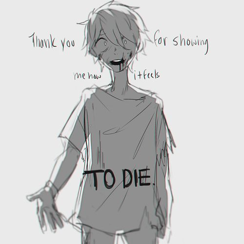 anime depression | ... tags for this image include: anime, sad, depressed, depression and boy