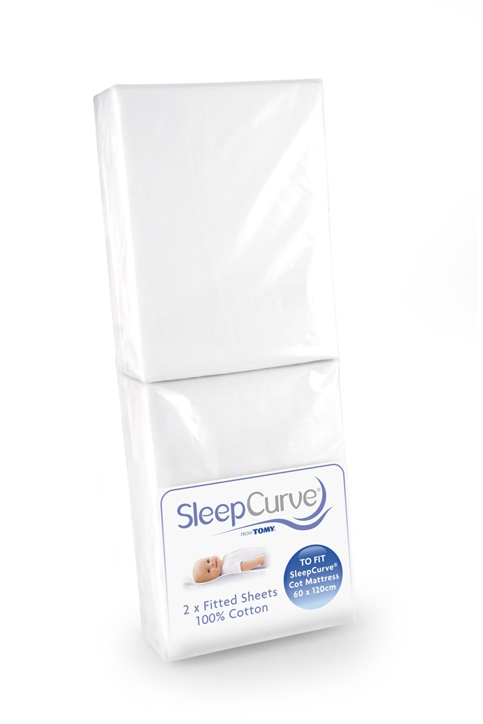 Tomy Sleep Curve Cot Mattress Sheets 2 Pack Available Online At Http