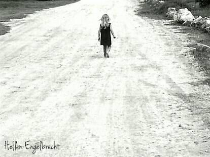 Sarahs Walk About Black and White Print Fine Art Photography by Original Artist Hellen Engelbrecht by MulberryBLUEDesigns on Etsy