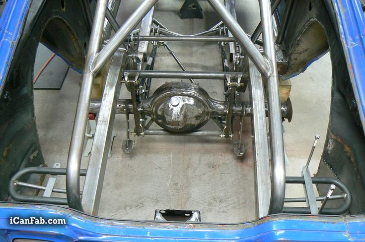 Building an nhra certified roll cage for the 1972 vega