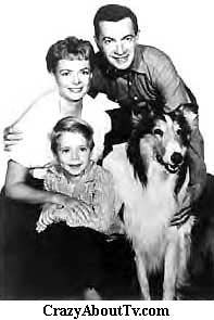 The Martin family as everyone remembers them: Ruth [June Lockhart], Paul [Hugh
