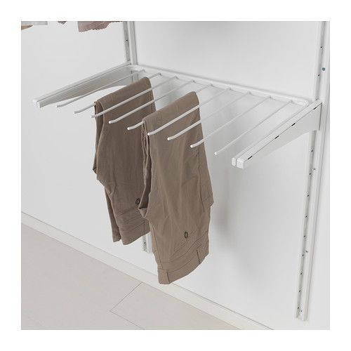 Ikea Wandregal Lack Schrauben ~ Pant hangers, Ikea and Hangers on Pinterest
