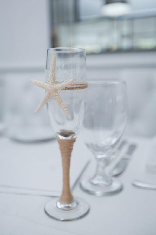 Champagne flutes / beach wedding idea |  destination,fine art,tony gambino photography