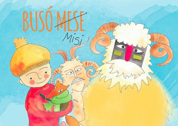 Olvassátok el Busó Misi történetét a busójárásról! Jöjjön a tavasz!