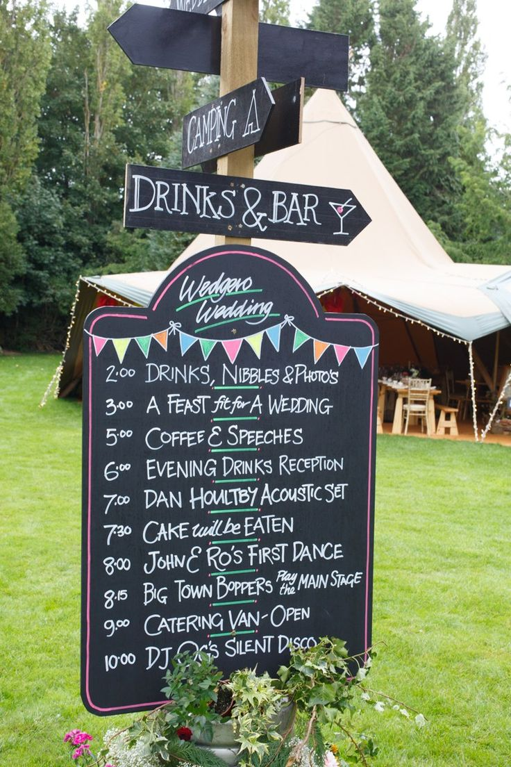 Sign Post Black Chalk Board Country Fete Garden Festival Wedding http://sharoncooper.co.uk/