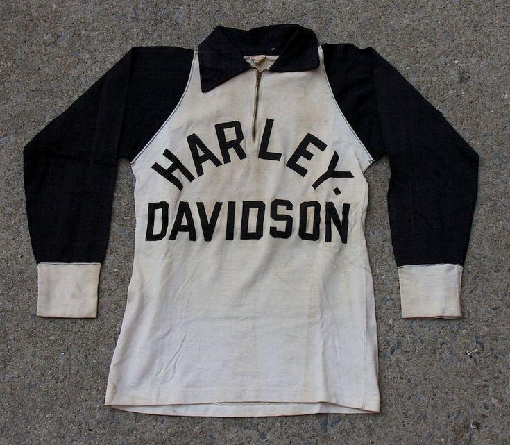 Vintage Harley Davidson Racing Jersey Men S Vintage