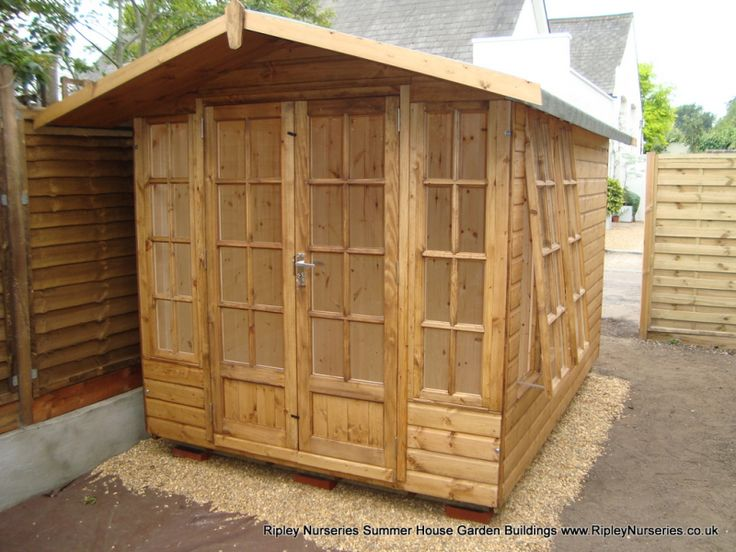petersham summerhouse 8x10 tgv lined and insulated garden buildingssummer - Garden Sheds Ripley