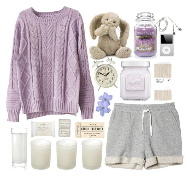 """""""Lazy days..."""" by klajus ❤ liked on Polyvore featuring Monki, Chicnova Fashion, Yankee Candle, Newgate, H&M, Jellycat, Laura Mercier, philosophy, Casa Couture and John Lewis"""
