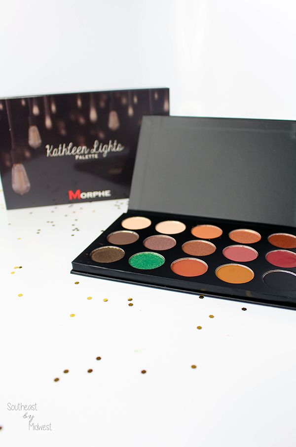 morphe x kathleen lights palette review with swatches. Black Bedroom Furniture Sets. Home Design Ideas