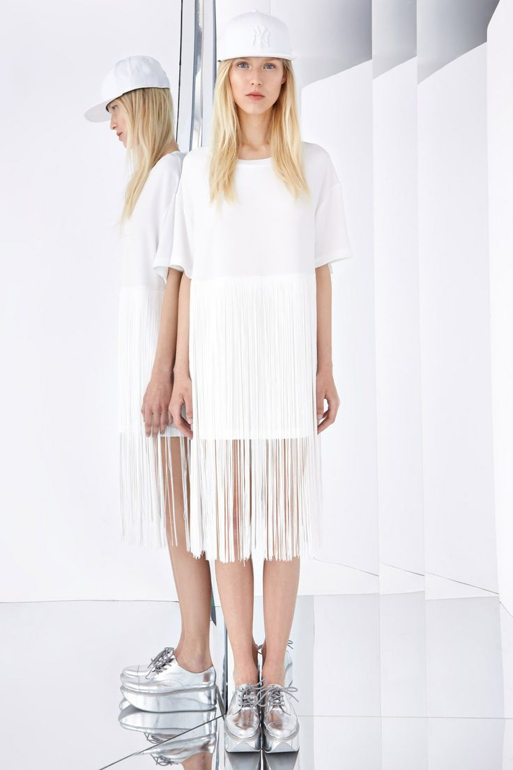 DKNY, pre-spring/summer 2015 fashion collection