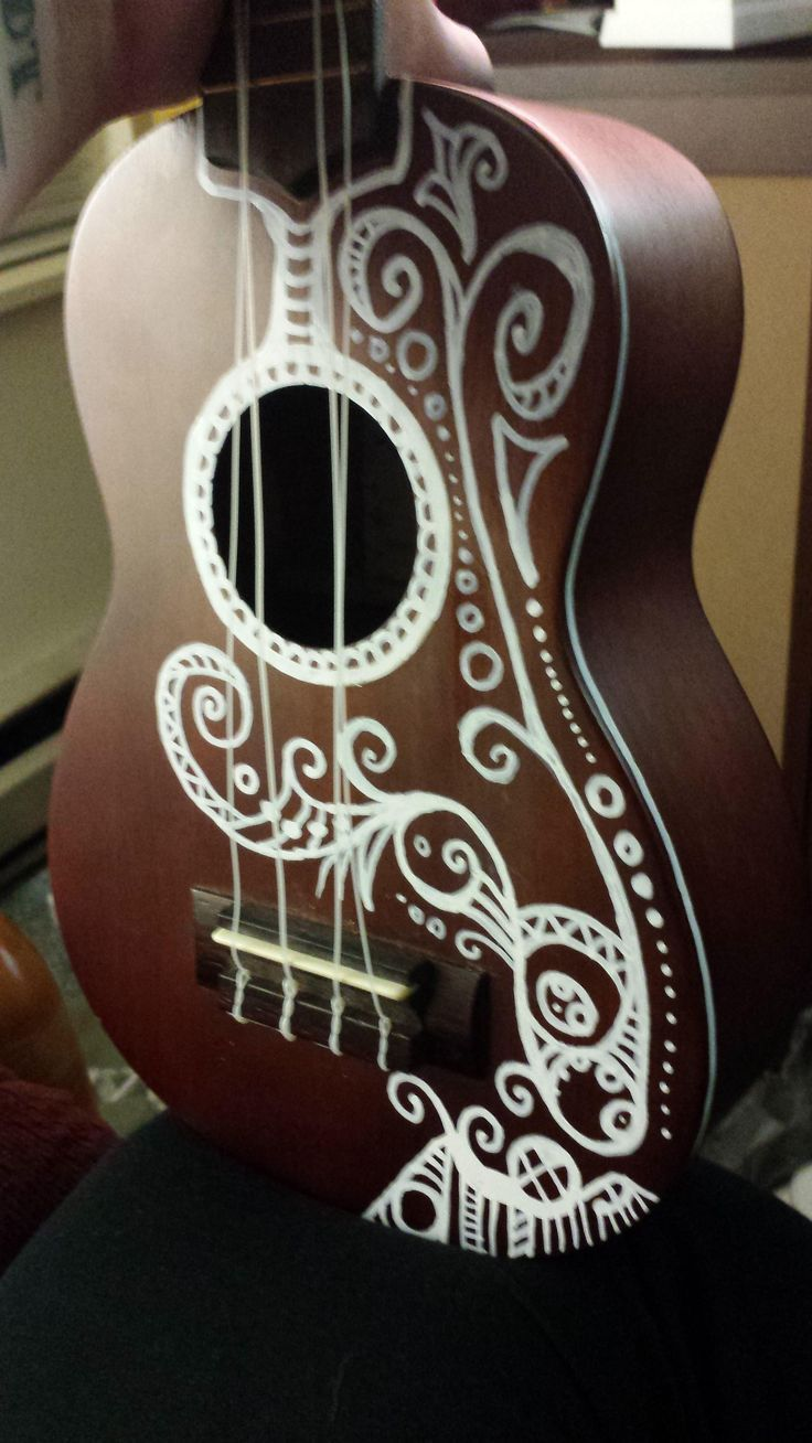 ukulele sharpie designs - Google Search…