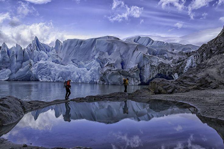 Silencio Azul /Blue silence By Jose Manuel Jimenez Rios  2nd Patagonia Photo Contest - Category: Deportes al Aire Libre/Outdoor Sports