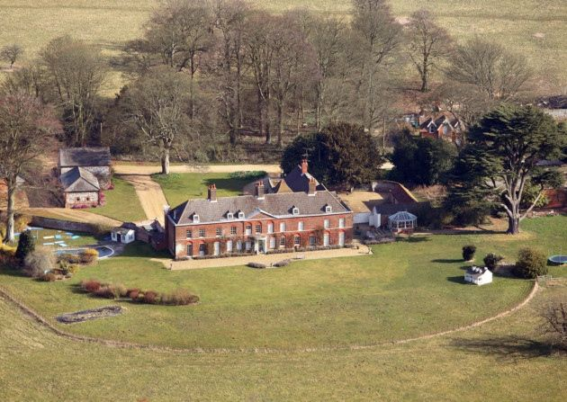 Anmer Hall, William and Kate's country retreat in West Norfolk. Photo: Mike Page.