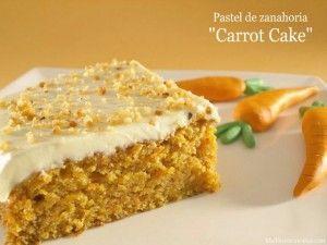 Pastel de zanahoria (Carrot cake) - MisThermorecetas