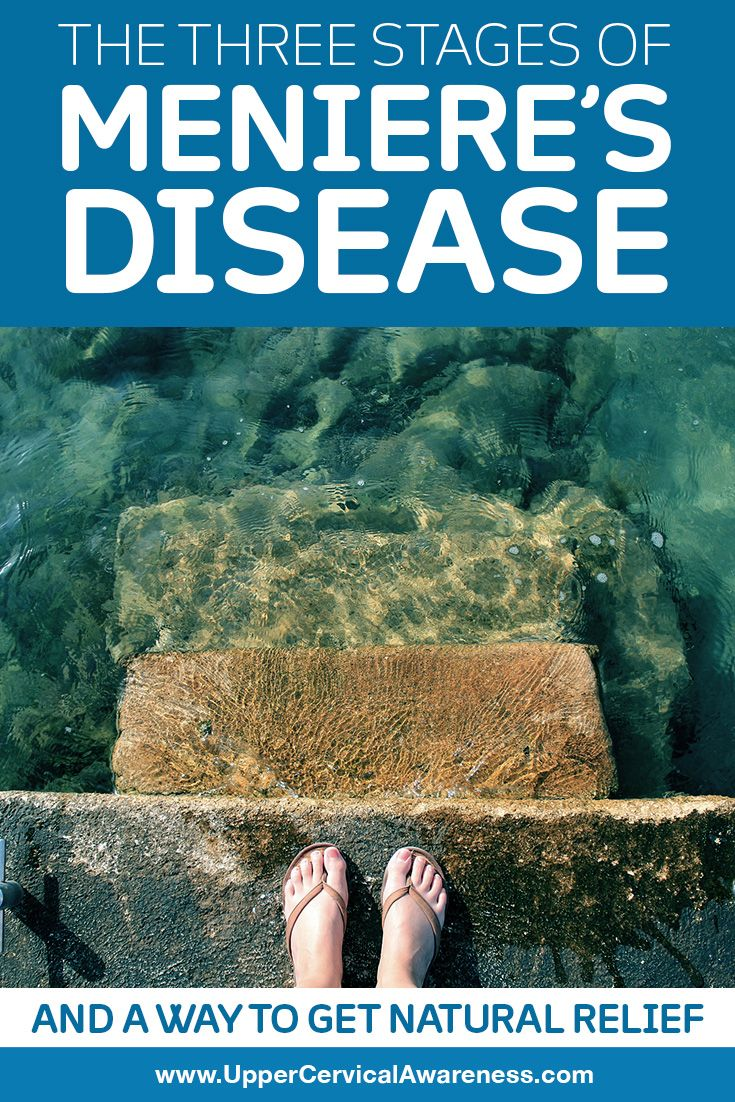 3 Stages of Meniere's Disease with Natural Relief
