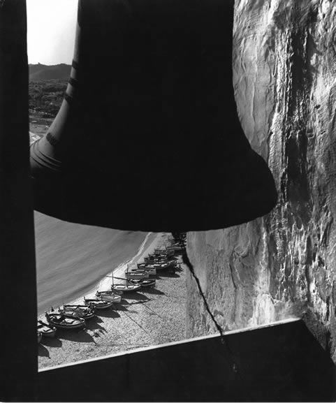 From the church bell tower at Sitges, Spain,1955David Moore
