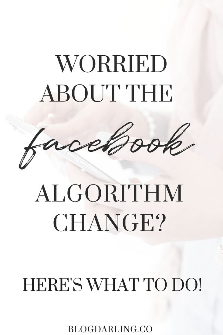 The latest Facebook algorithm changes are bad news for bloggers with a Facebook business page. Here's what you can do to help in light of the recent changes! #facebook
