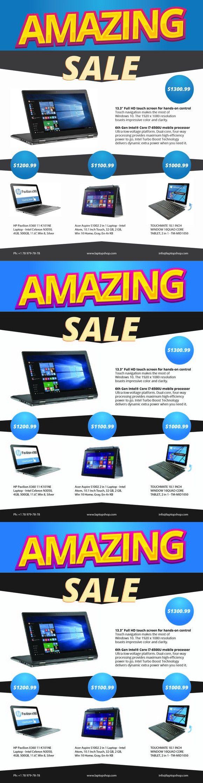 Laptop Sale Flyer