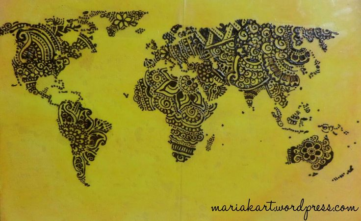 14 best World map images on Pinterest | World maps, Maps and Map crafts