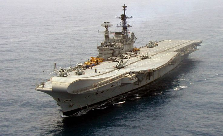 India to Retire 57-Year Old Aircraft Carrier Viraat – The Oldest Aircraft Carrier In The World