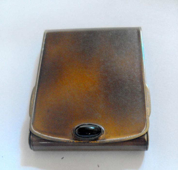 11584 £30 inc UK Post. Offers welcome. Unusual japanned vintage matchbook holder