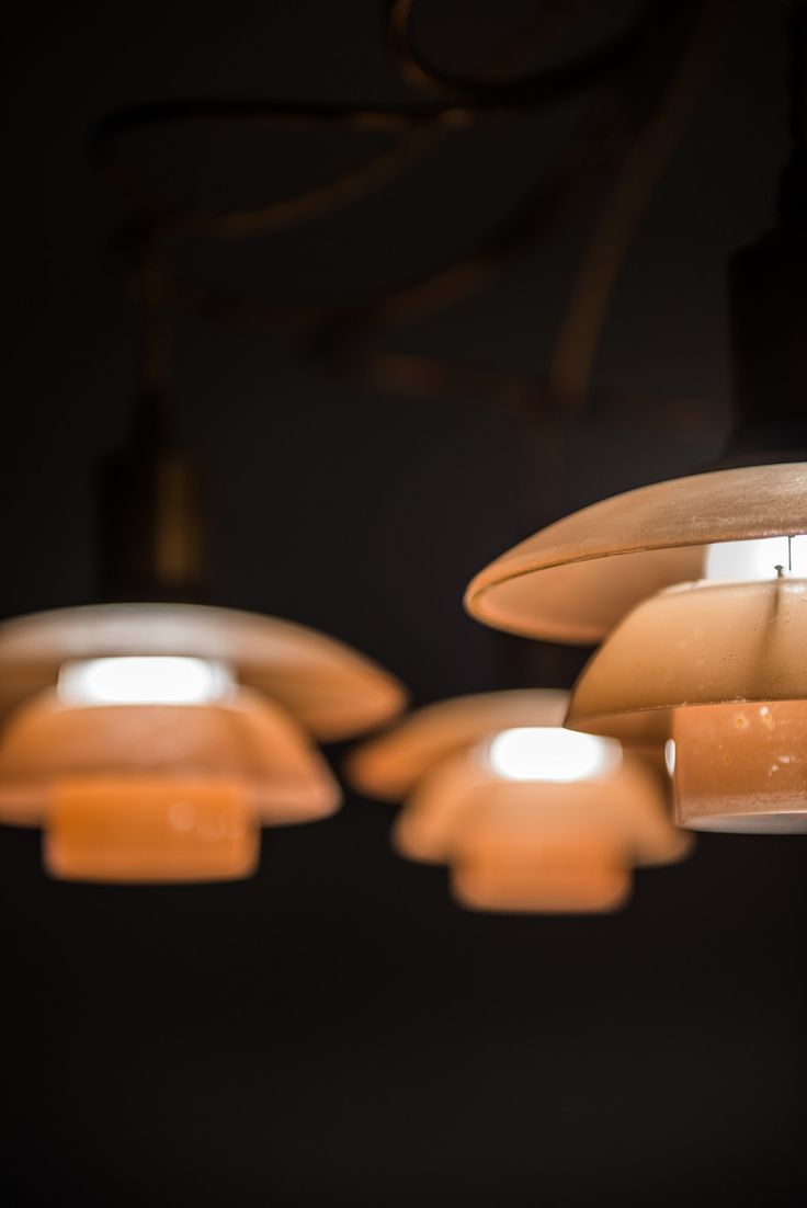 Poul Henningsen ceiling lamp Butterfly at Studio Schalling