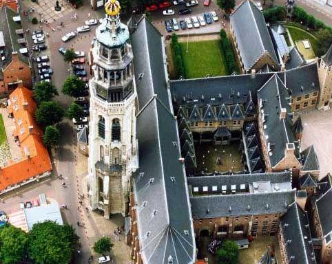 Abdij en de Lange Jan - Middelburg