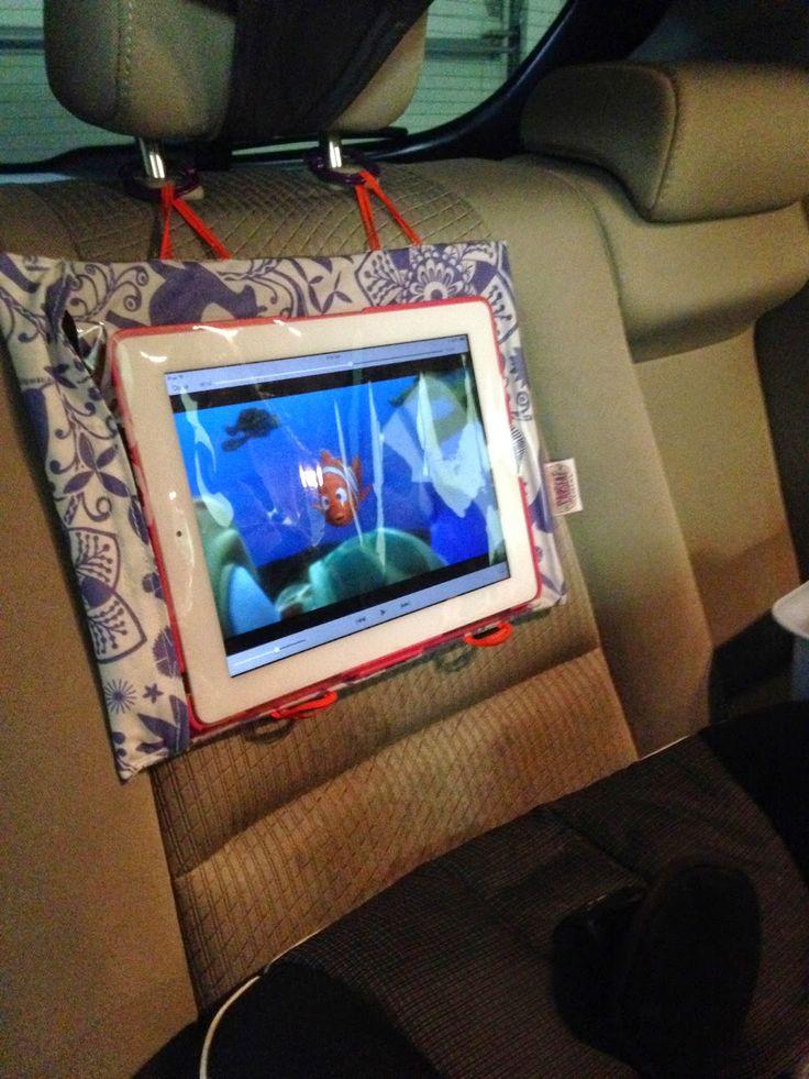IPad Tips, Basket Next To Car Seat