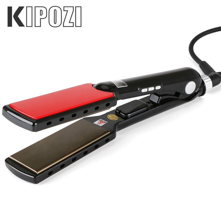 KIPOZI Pro 1.5 Inch Nano-Titanium Flat Iron,450F Achieve Salon Hair Straightener,Worldwide Dual Voltage >>> Check this awesome image  : Travel Hair care