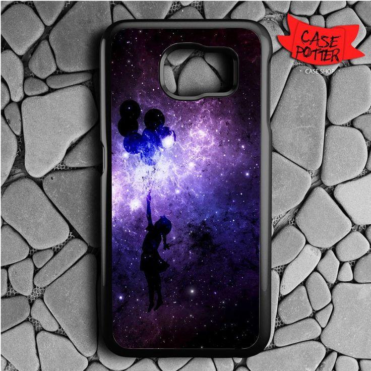 Banksy Balloon Samsung Galaxy S6 Black Case