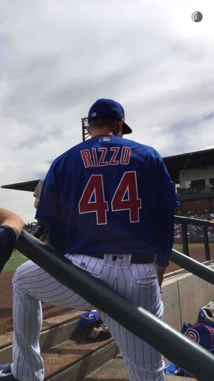 Anthony Rizzo via Cubs snapchat