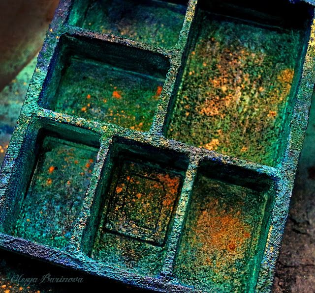 Olesya Barinova: Shadow-box с морского дна