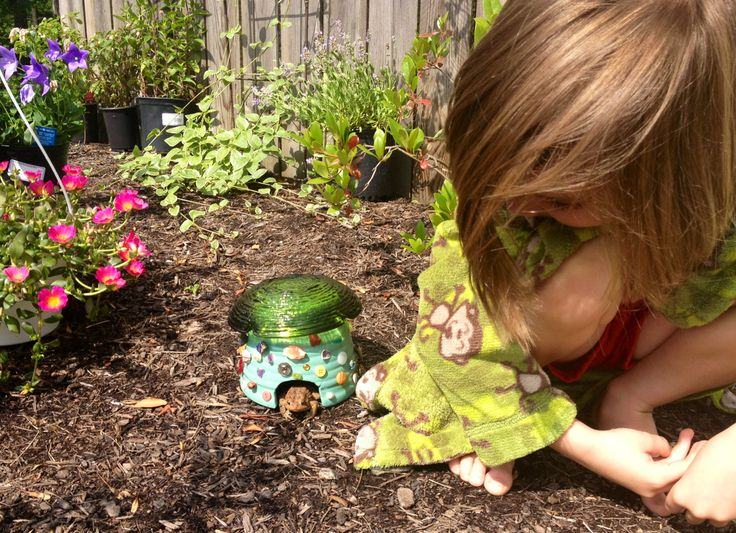 17 best images about school garden design elements to add Make your own toad house