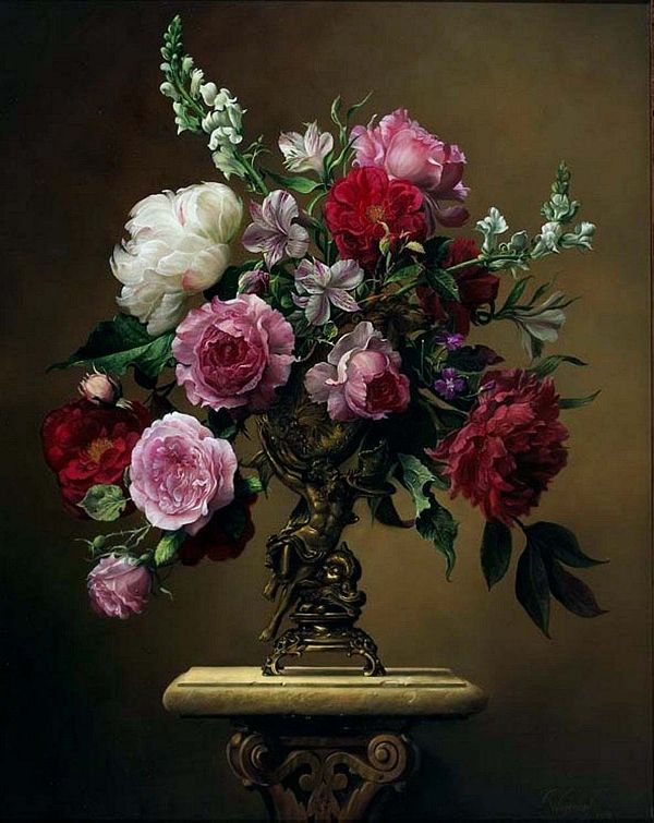 Flower Masterpieces by Pieter Wagemans Flower Masterpieces by Pieter Wageman's, still life inspiration for events, celebrations, gift giving, Fine Art and home decor.