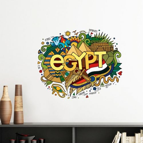 Ancient Egypt Flag Abstract Decorative Pattern Sacrifice Pyramid Sphinx Landmark Decoration Art Pattern Removable Wall Sticker Art Decals Mural DIY Wallpaper for Room Decal #Wallsticker #AncientEgypt #Wallpaper #Abstract #Decoration #Sphinx #Walldecor #Sacrifice #Homedecor #Art #Stickers #Pyramid #Poster #DIY #Decorationsforhome #Wallart