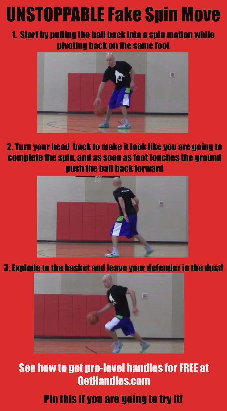 UNSTOPPABLE Fake Spin Move #basketball #ballislife